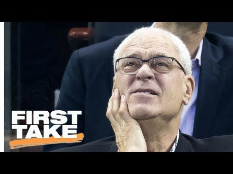 Thumbnail: Phil Jackson Needs To Coach The Knicks | First Take | June 27, 2017