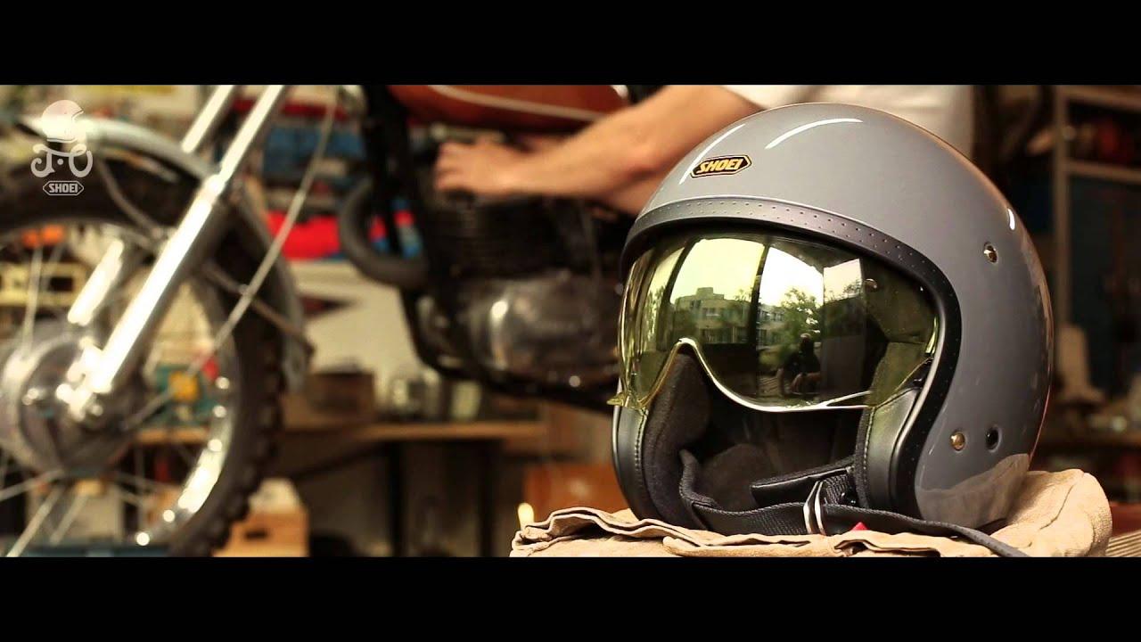 画像: Présentation du casque moto Shoei J-O www.youtube.com