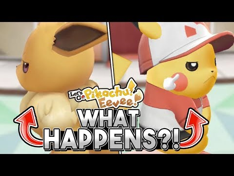What Happens When You Try To EVOLVE Your Starter Pokemon In Let's Go Pikachu & Eevee?