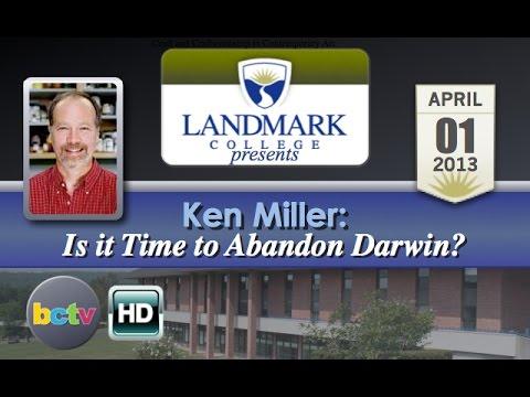 Landmark College presents Ken Miller, 'Is it Time to Abandon Darwin?' - 4/1/13