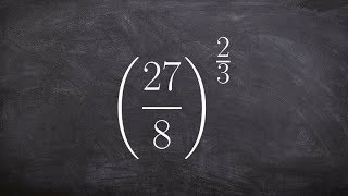 Simplifying fraction being raİsed to a rational power, fraction raised to a fraction