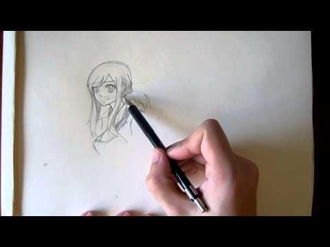 Как нарисовать своего персонажа карандашом