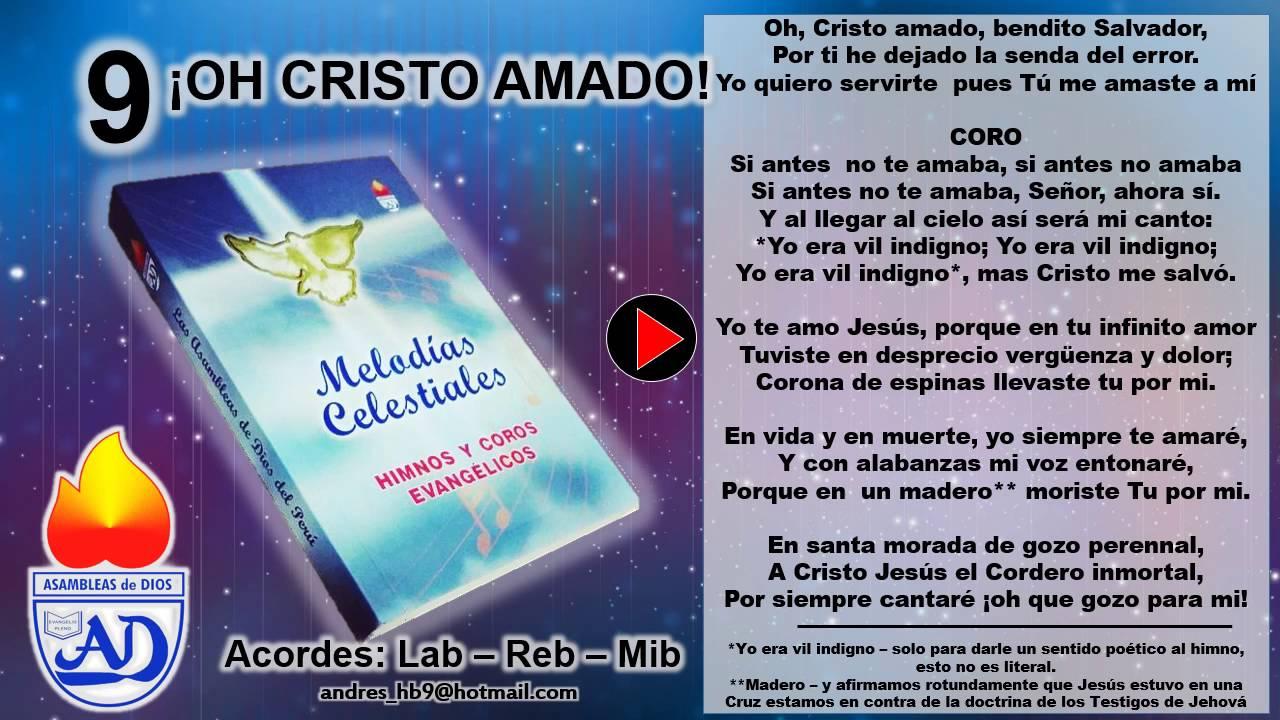Oh cristo amado himno 9 melodias celestiales con letra adp oh cristo amado himno 9 melodias celestiales con letra adp chords chordify hexwebz Images