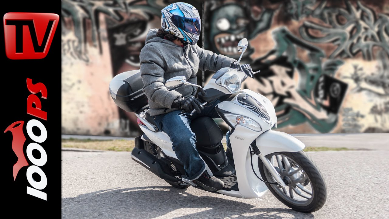 2015 | kymco people one 125 im test - youtube