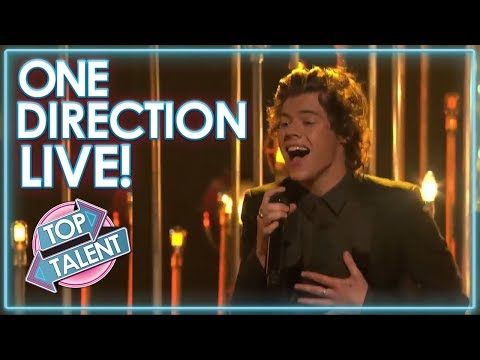 ONE DIRECTION LIVE On X Factor, Got Talent and Idol! | Top Talent