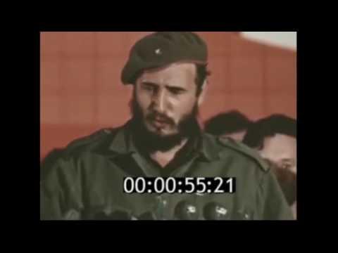 Fidel en una visita a una Universidad de Moscú, en visita oficial el 1963. #HastaSiempreComandante