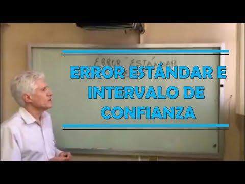 Cálculo del error estándar e intervalo de confianza. Dr. Alejandro Macías.