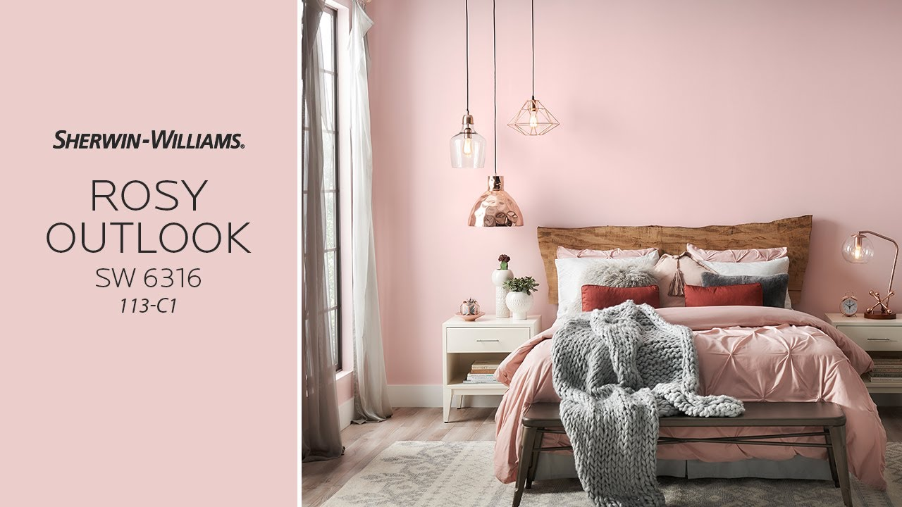 July 2017 Color Of The Month Rosy Outlook Sherwin