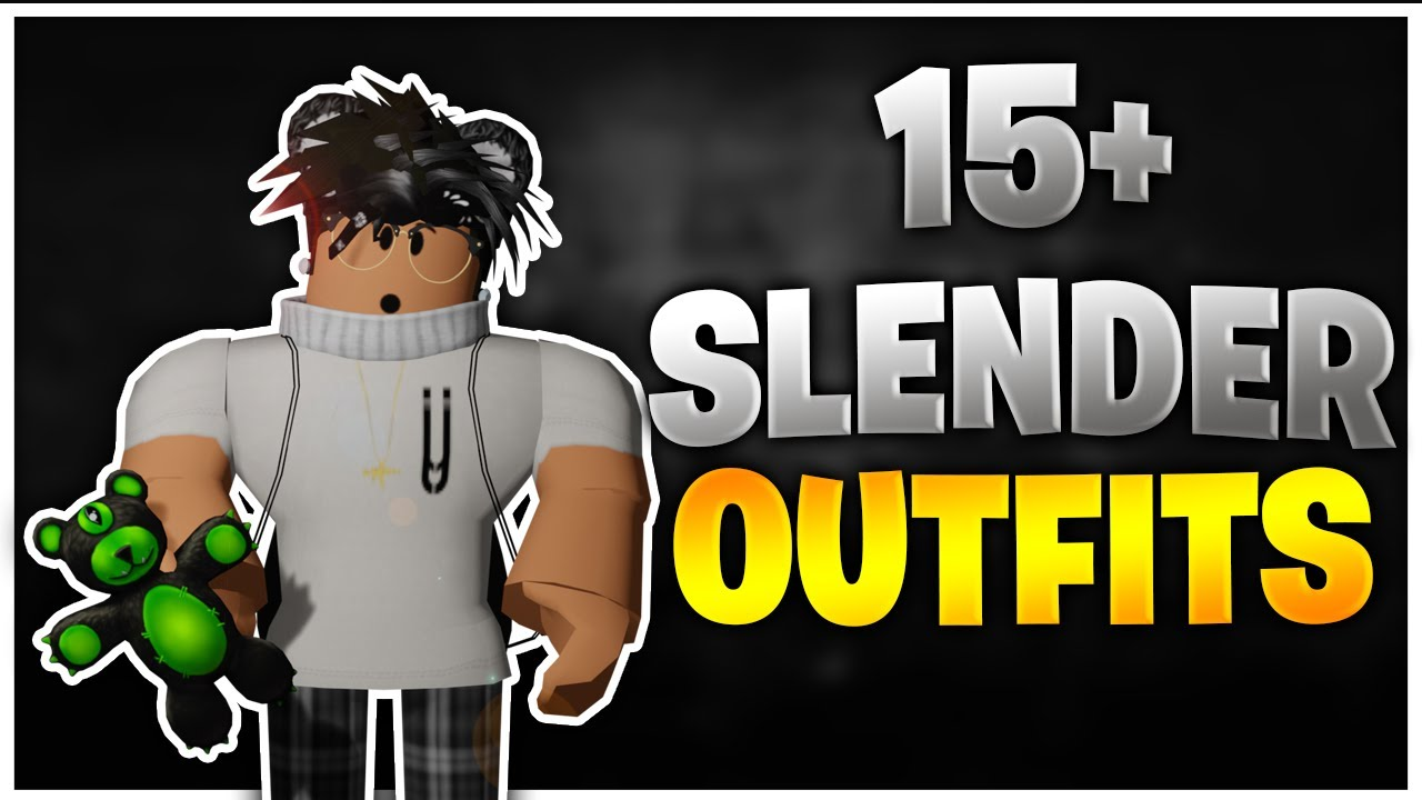 TOP 15  SLENDER ROBLOX OUTFITS OF 2020 (BOYS OUTFITS)😈🔥 YouTube