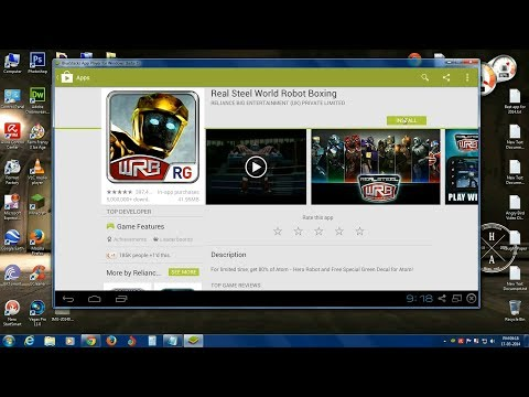 How to Install Real Steal World ROBOT Boxing Game to PC 2014 FREE (Windows/MAC)