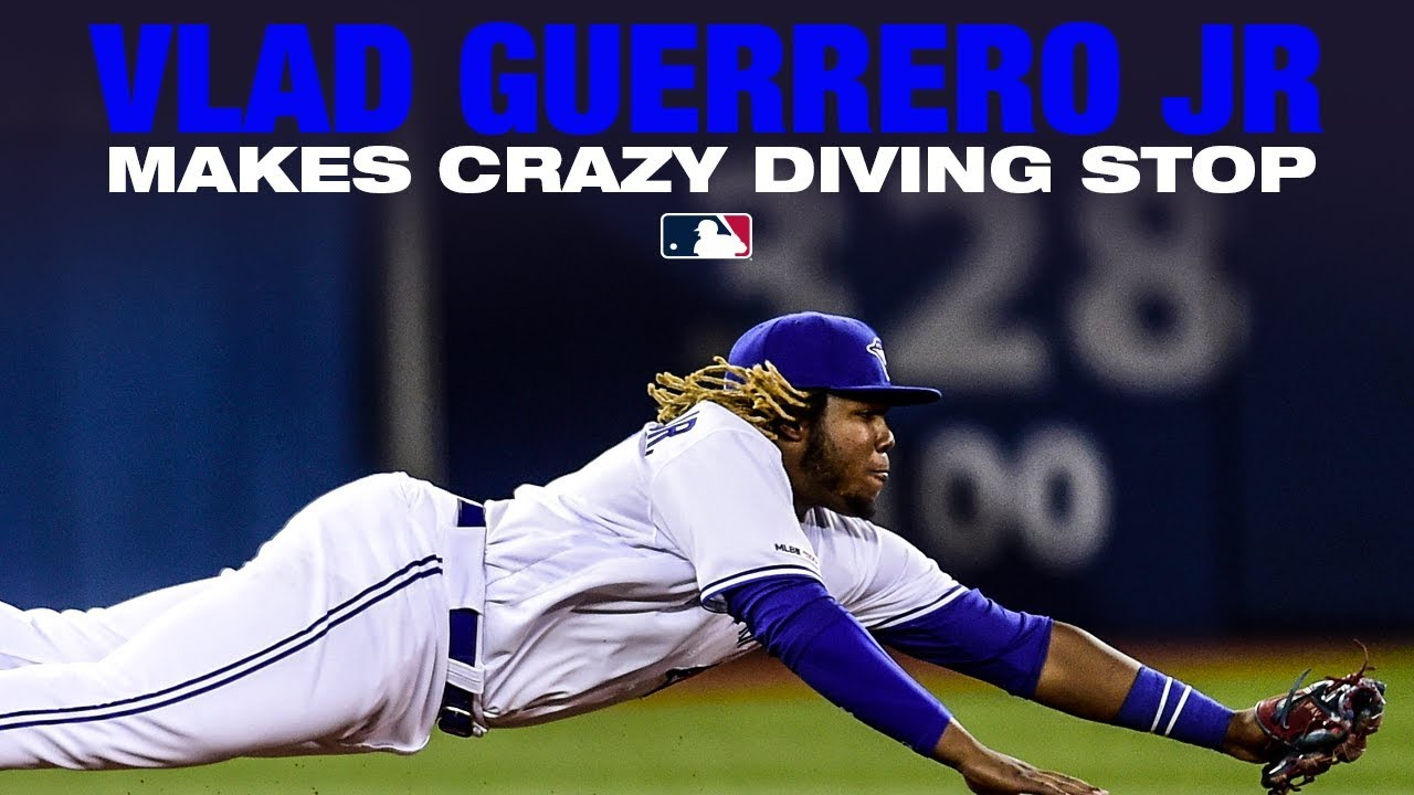 Vlad Jr.'s  diving stop