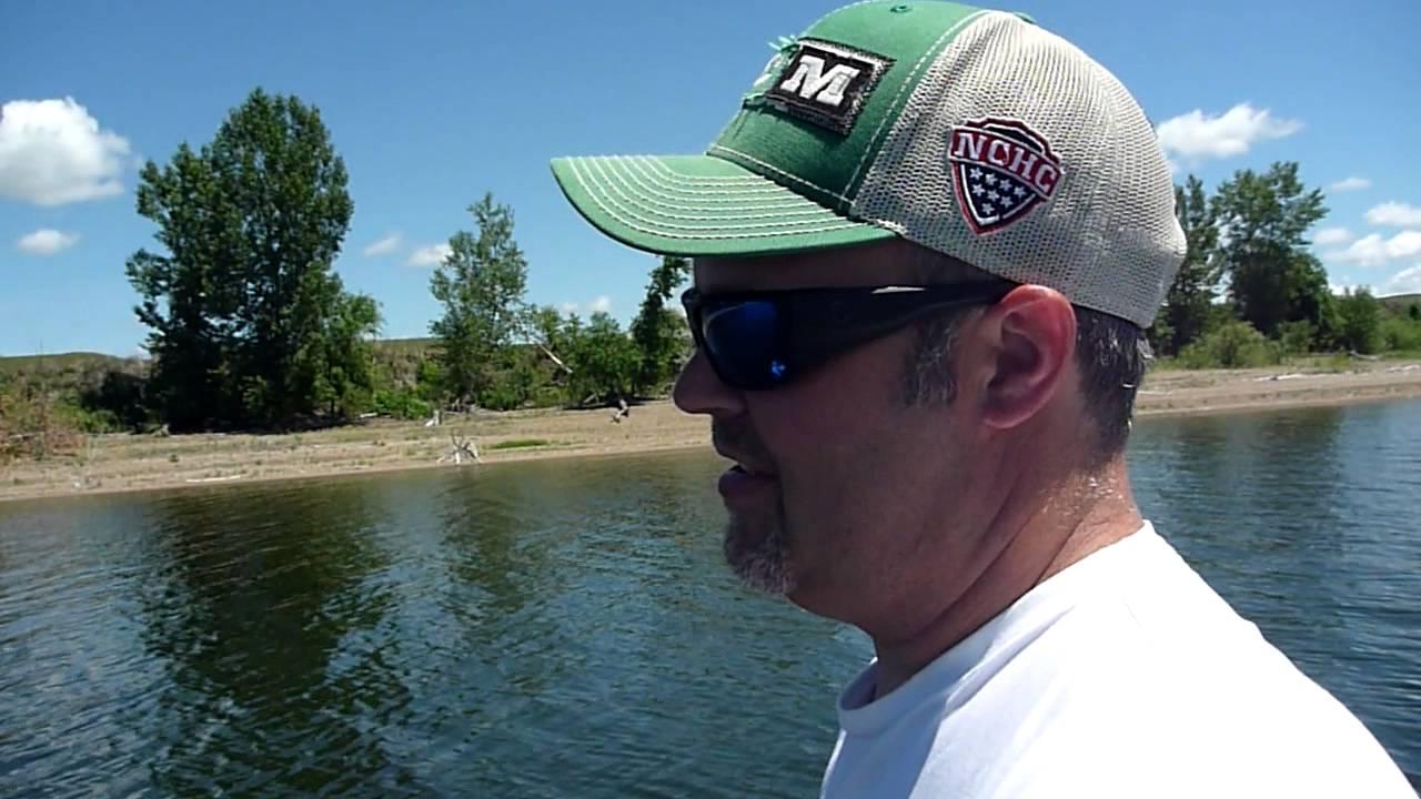 Lake Oahe Walleye Fishing North Dakota June 2015 Youtube