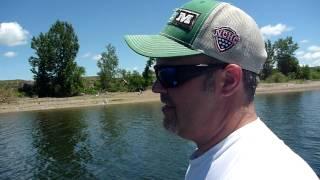 Lake Oahe Walleye Fishing - North Dakota - June 2015