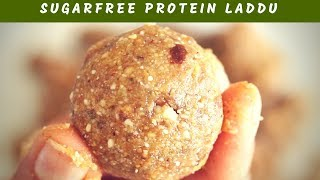 TASTY SUGAR FREE ORGANIC PROTEIN LADDU | EASY & HEALTHY BREAKFAST