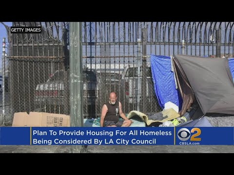 LA Considers Ambitious Proposal To Provide Housing For Every Homeless Person