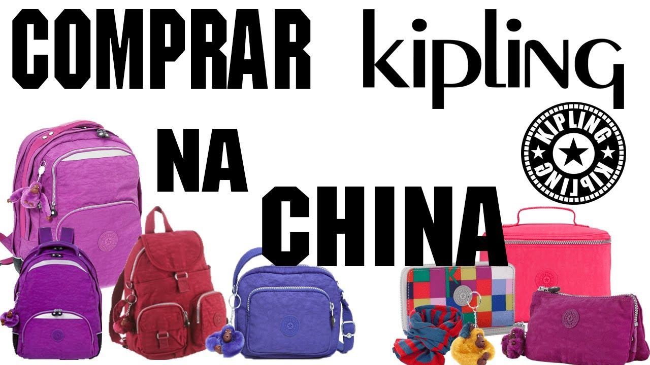 81598be18 COMPRANDO bolsas Kipling no site da China Andwish.com PARTE 1 1/2 ...