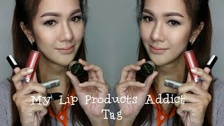 Lip Products Addict TAG | Kimmy Daily Beauty Thumbnail