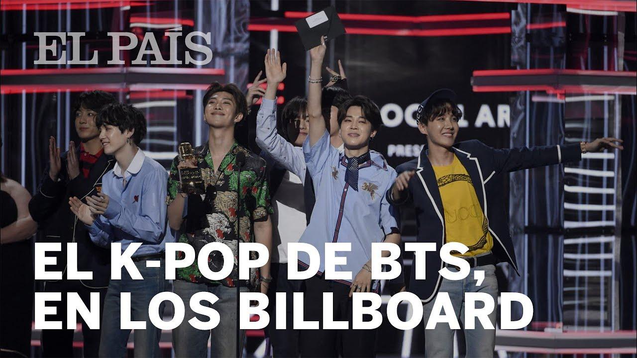El K-pop de BTS triunfa en los premios Billboard