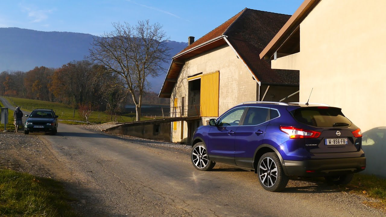 2014 nissan qashqai 1.6 dci, first drive - youtube