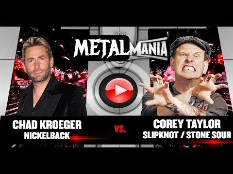 COREY TAYLOR vs CHAD KROEGER: Who Would Win the Fight???