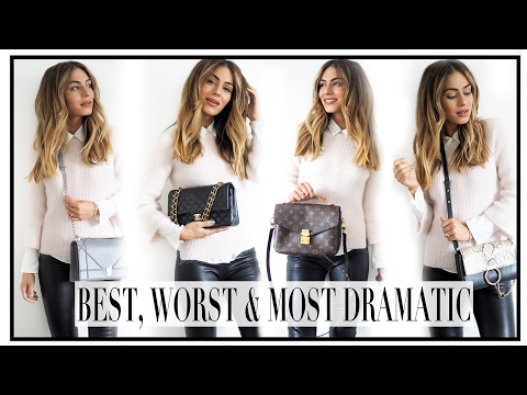 THE BEST, THE WORST & THE MOST DRAMATIC | THE LUXURY HANDBAG TAG | Lydia Elise Millen