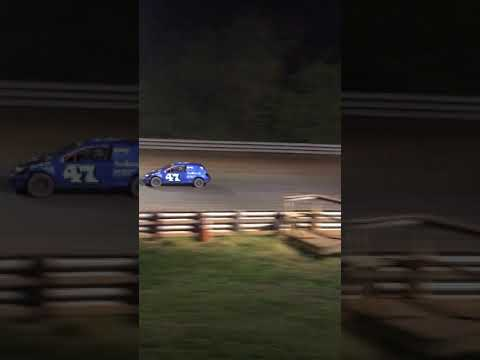 Rebel racing Travis brown Hagerstown Speedway feature