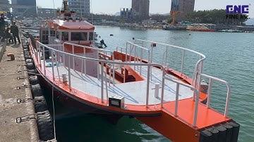 FINE - 7.93톤 연안복합어선 제작과정