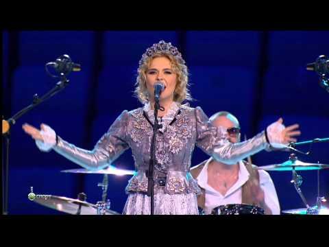 (HD) Пелагея - Ой, да не вечер (Церемония открытия Олимпиады в Сочи-2014)
