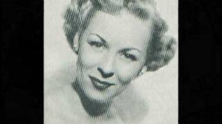 A LITTLE BIRD TOLD ME ~ Evelyn Knight & The Stardusters  (1948) Video