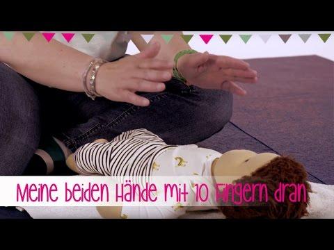 Meine beiden Hände mit 10 Finger dran - Lieder aus dem Babykurs