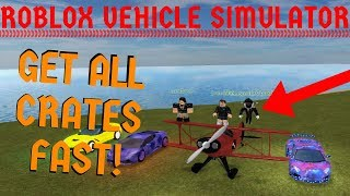 How to Get EVERY SINGLE CRATE! (Method) | Roblox Vehicle Simulator