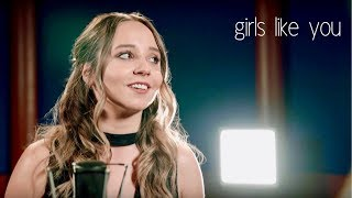 Girls Like You - Maroon 5 ft. Cardi B - Acoustic Cover by Ali Brustofski
