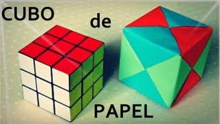 Fantástico Cubo Modular de Papel - Origami