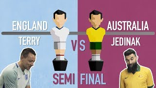 FIFA World Cup 2018 foosball tournament: Terry v Jedinak