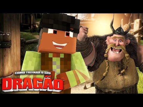 Minecraft: AS HISTÓRIAS DO BOCÃO 06  COMO TREINAR O SEU DRAGÃO
