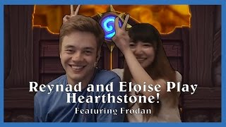 Eloise and Reynad play Hearthstone!