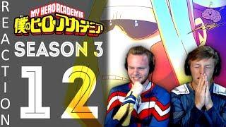 SOS Bros React - My Hero Academia Season 3 Episode 12 - Allmight Still Lives!!