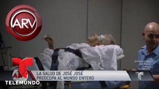 José José fue trasladado y hospitalizado en Miami | Al Rojo Vivo | Telemundo