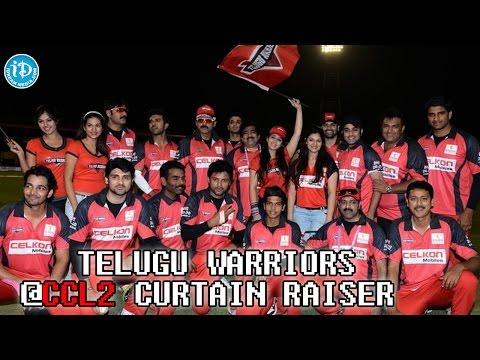 Telugu Warriors Team Introduced at CCL 2 Curtain Raiser | Venkatesh, Charmi