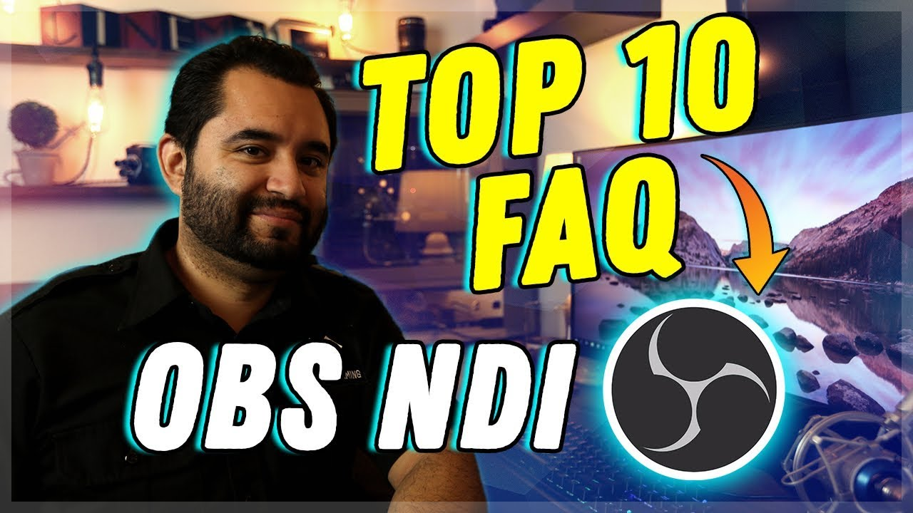 OBS NDI Troubleshooting & FAQ // Your questions answered!