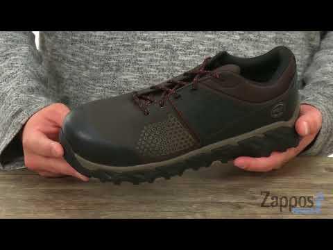 4285eada500 Timberland PRO Ridgework Composite Safety Toe Low SKU: 9009396 - YouTube