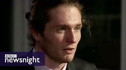 Raffaele Sollecito: 'I am a normal guy' - BBC Newsnight