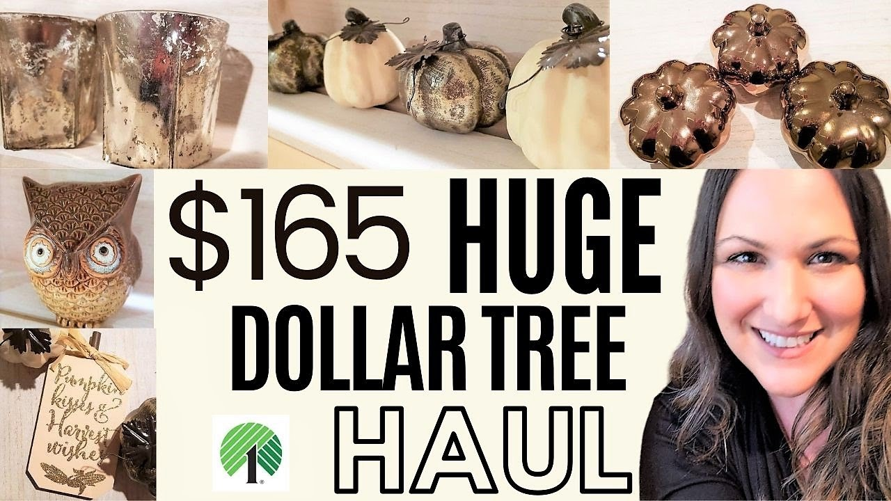 DOLLAR TREE HAUL (FALL DECOR) 🤎 2020 | FINDING FALL ITEMS 2020