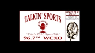 WCXO SPORTS -TALKIN SPORTS 8/18/18
