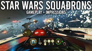 Star Wars Squadrons Gamęplay and First Impressions