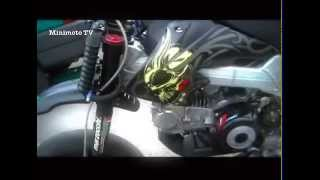 pitbike bbr vs supermoto on the kartbahn