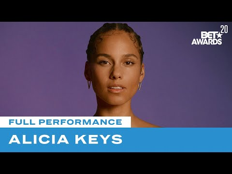 "Alicia Keys In First Live Performance Of ""Perfect Way To Die"" 