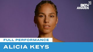 "Download Alicia Keys In First Live Performance Of ""Perfect Way To Die"" 