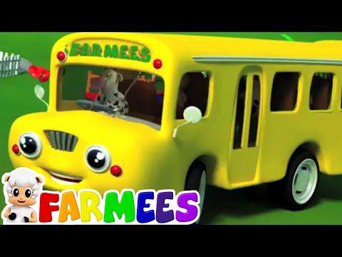 rodas no ônibus | rimas de berçário canções | músicas infantis em português