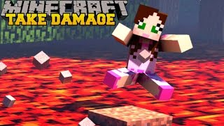 Minecraft: TAKE SOME DAMAGE!! (FIND A WAY TO DIE!!) Custom Map